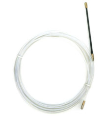 Протяжка кабеля для неразрезной гофры