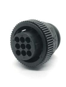 AMP Circular Plastic Connectors- 9 pin